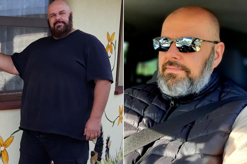 József 77 kilót fogyott eddig.