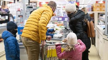 Több mint három százalékkal nőtt az élelmiszerek ára
