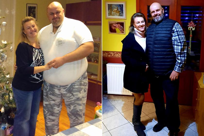 100 kilót fogyott együtt József és Emese egy év alatt: a magyar házaspár elmondta, hogy csinálta