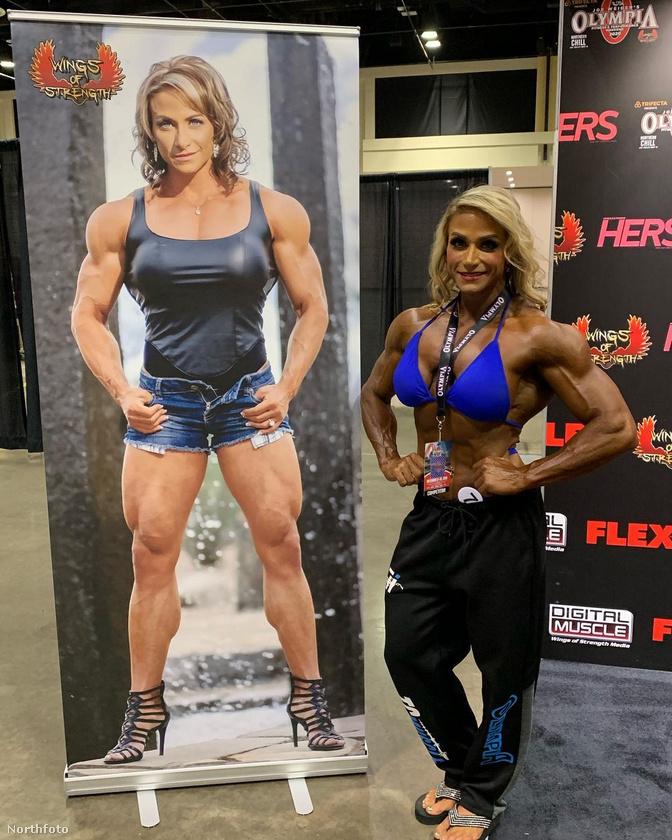 Képünkön a pennsylvaniai Theresa Ivancikot, hivatásos testépítőt, személyi edzőt, testépítő modellt láthatja, aki hosszú évek munkájával érte el jelenlegi alakját