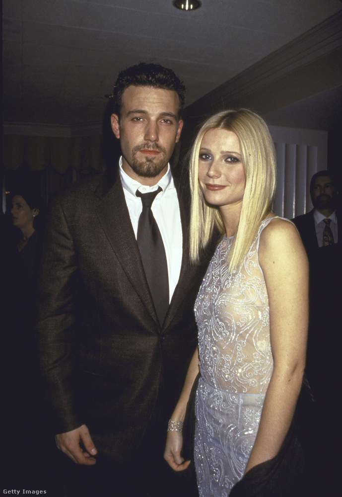 Őt szinte egyből Gwyneth Paltrow követte, akivel1997-ben jött össze Affleck, Harvey Weinstein egyik partiján