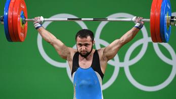 Dopping miatt felfüggesztették az olimpiai bajnok súlyemelőt