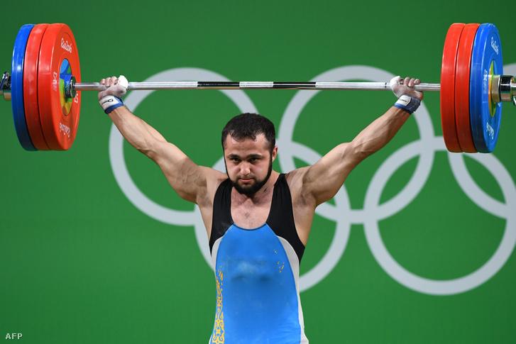 Nijat Rahimov a riói olimpián