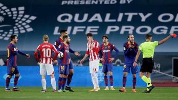 Kiderült, hány meccsre tiltják el Lionel Messit