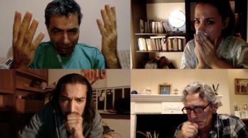 Egy karantén által szétszakított család története négy online felvonásban