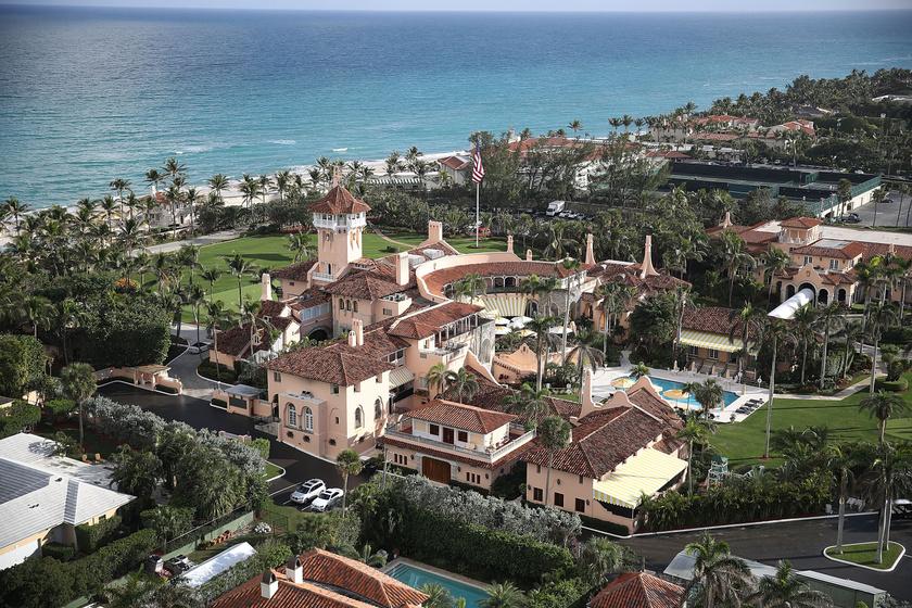 Donald Trump birtoka a második legnagyobb ház Floridában.