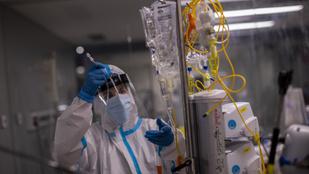 Koronavírus: több a fertőzött, kevesebb a halott