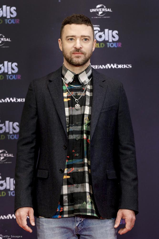 És íme, Justin Timberlake tavaly februárban, amikor még készültek fotók híres emberekről.