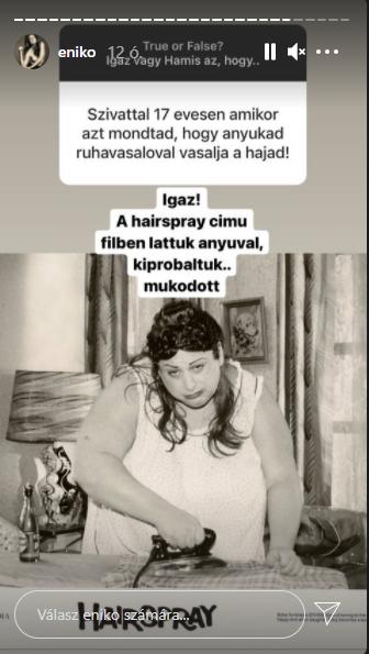 forrás: Mihalik Enikő Instagram-oldala