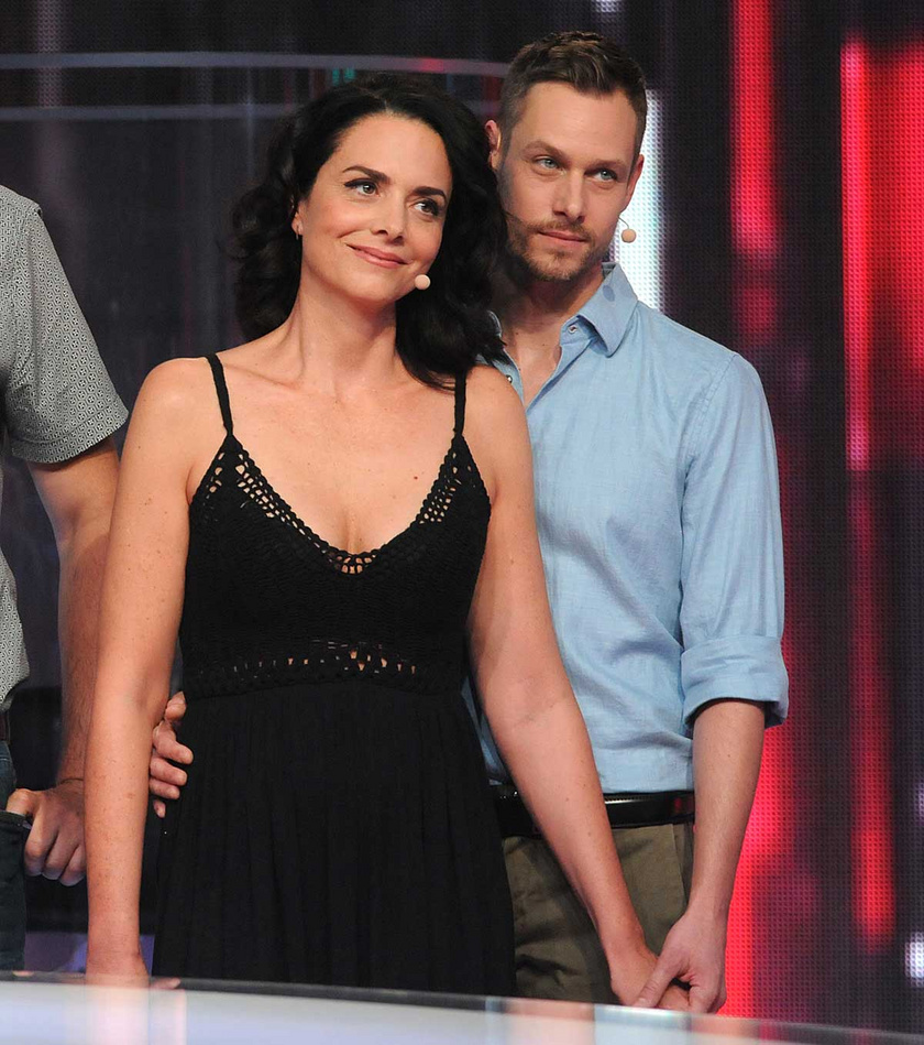 Deutsch Anita és Kinizsi Ottó a TV2 Drágám, add az életed! című vetélkedő műsorában 2017-ben.