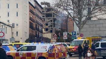 Többen meghaltak egy madridi házrobbanás miatt