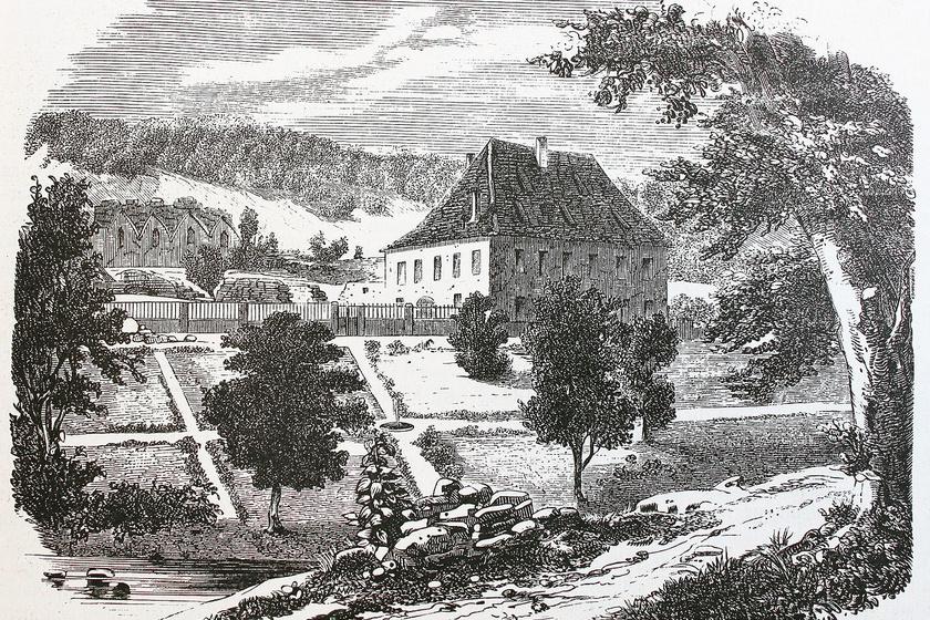 Charles Lafarge birtoka.