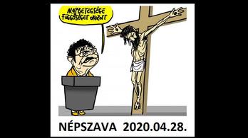 Döntött a bíróság a Jézust és Müller Cecíliát ábrázoló karikatúra ügyében