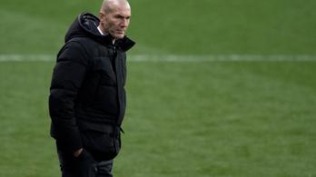 Zidane nem keres kifogást a Real kínos kupakiesésére