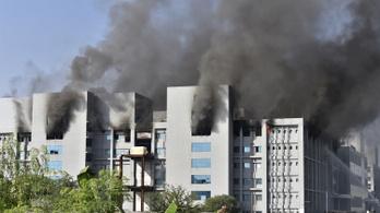 Tűz ütött ki a világ legnagyobb vakcinagyártójánál