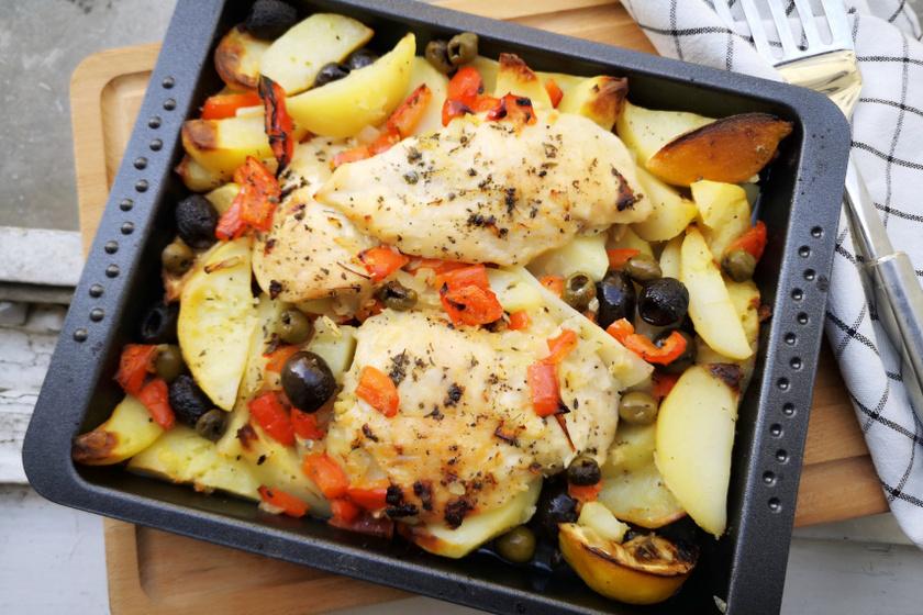 görög egytepsis csirke recept