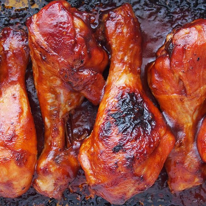 Vajpuha, BBQ-szószban sült csirkecomb: alig kell hozzá valami