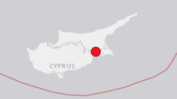 Földrengés volt Cipruson