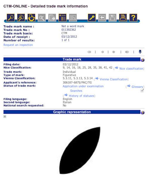 apple leaf trademark