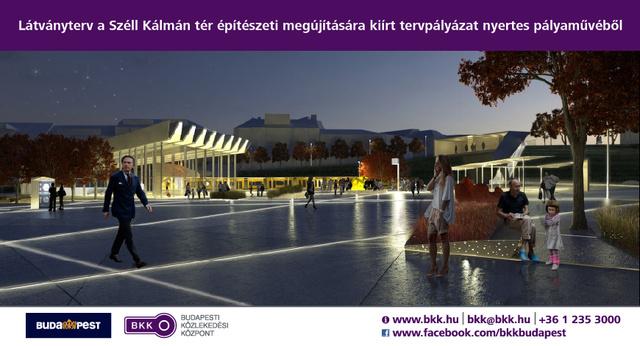 BKK-Széll-Kálmán-tér-Éjszakai-látványterv