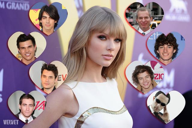 Taylor Swift és eddigi igazi/képzelt/kamu pasijai