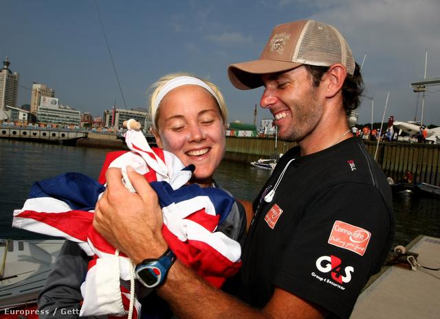 Sarah Ayton és Nick Dempsey - mindketten olimpiai érmesek, de már nincsenek együtt