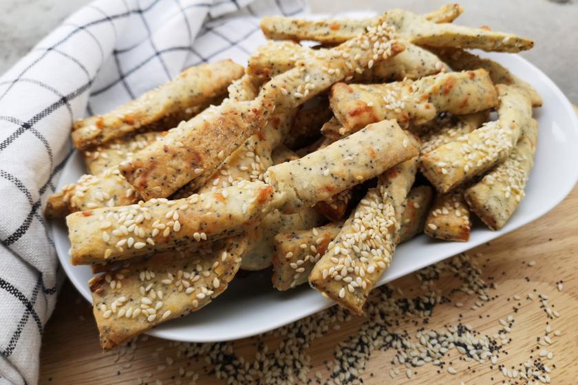 mákos csavart rúd recept