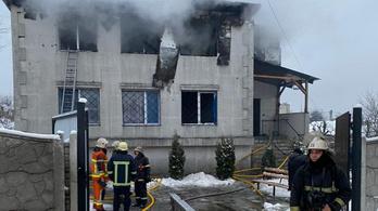 Tűz ütött ki, tizenöt ember meghalt egy harkivi idősotthonban