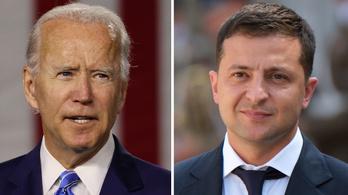 Az ukrán diplomácia már dolgozik Joe Biden és Volodimir Zelenszkij találkozóján