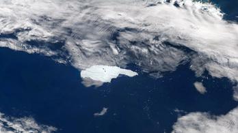 Tömege nagy részét elvesztette az Antarktiszról leszakadt óriási jéghegy