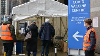 Percenként 200 embert oltanak be koronavírus elleni vakcinával az Egyesült Királyságban