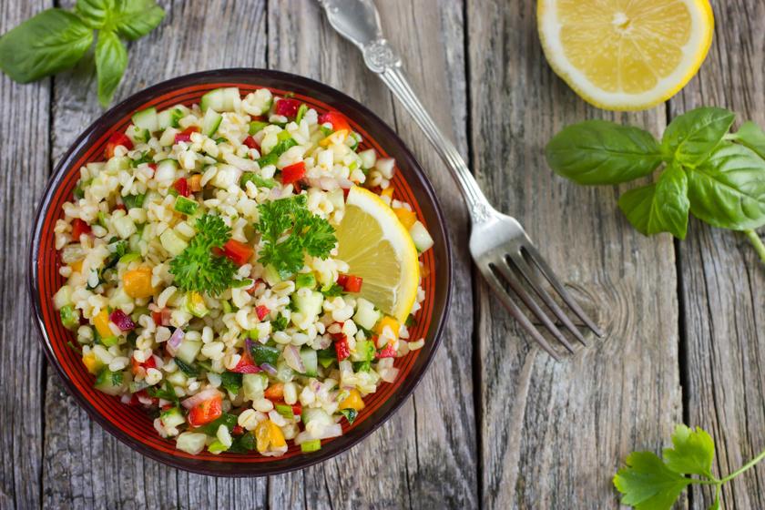 bulgur saláta recept