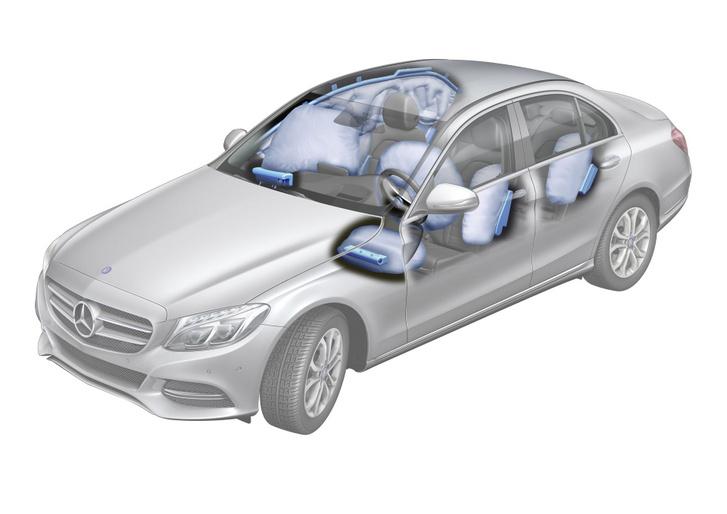 Kulcsszereplő a légzsák, mert vezérlőegysége lényeges adatokat (pl. sebesség) rögzíthet, ugyanakkor a légzsák (ok) kioldása olyan folyamatokat is elindít, mint az automatikus segélyhívás
