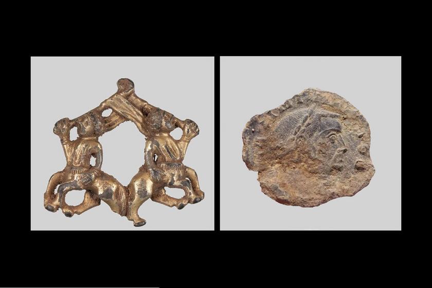 A fémdetektoros kincsvadászok legjobb fogásai 2020-ban: római érme és értékes bross is előkerült a föld alól