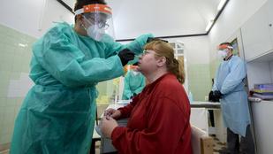 Koronavírus: ismét 98-an haltak meg egy nap alatt Magyarországon