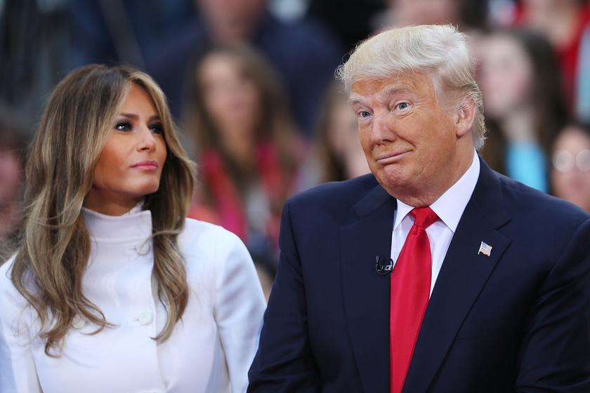 Melaniáról és Donald Trumpról kínos felvétel látott napvilágot: emiatt röhög rajtuk a net