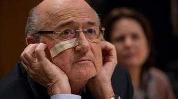 Joseph Blatter elhagyhatta az intenzív osztályt