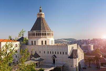 názáret angyali üdvözlet bazilika