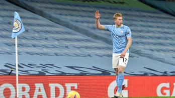 Egy hónapra elvesztette legjobbját a Manchester City