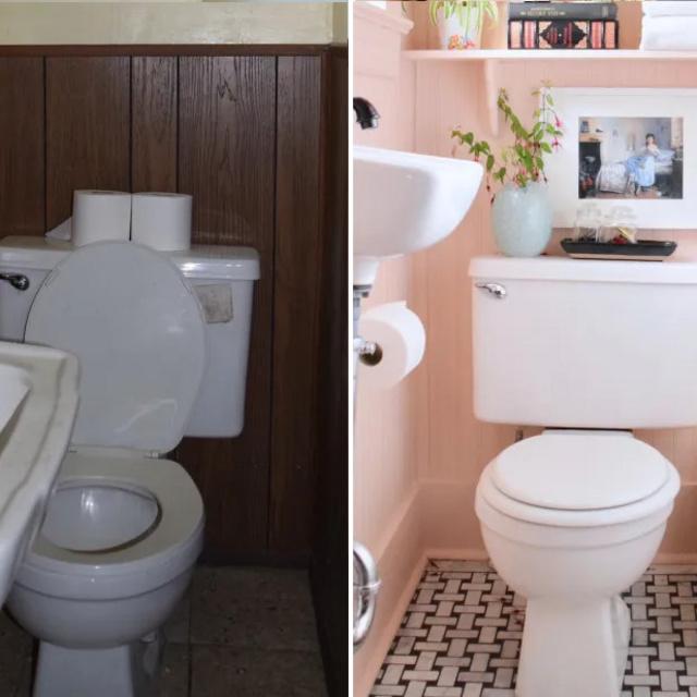 Rá sem lehet ismerni a régi, unalmas WC-re: 8 igazán gyönyörű felújítást mutatunk