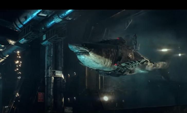 Jelenet a Sky Sharks című filmből.