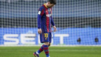 Lionel Messi kimaradt az év csapatából a FIFA-nál