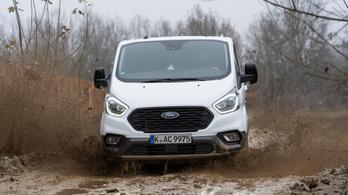 Teszt: Ford Transit Custom Active 2.0 TDCI Mhev
