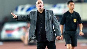 Távozik kínai klubjától Rafa Benítez