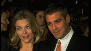 George Clooney bevallotta, hogy egyszer részegen ment be dolgozni (=forgatni)