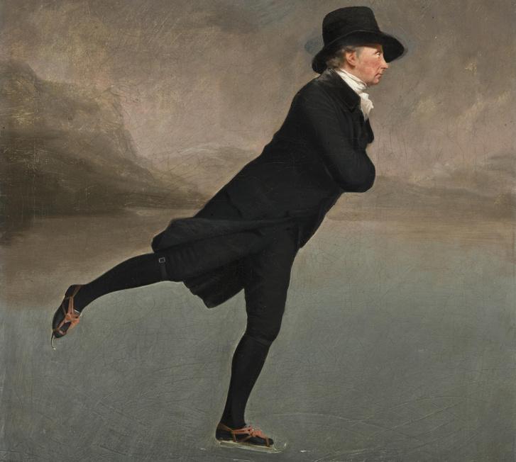A korcsolyázó miniszter - Henry Raeburn festménye