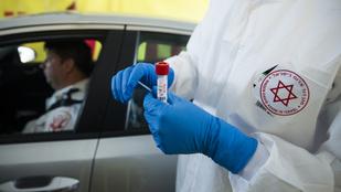 A koronavírus új mutánsának a kialakulásától tartanak Izraelben