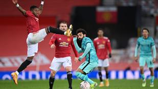 Greenwood Rooneyt idézte, a Manchester United kiejtette a Liverpoolt