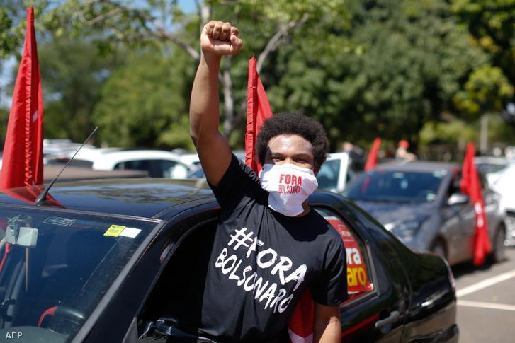 Tüntető szombaton a brasiliai megmozduláson