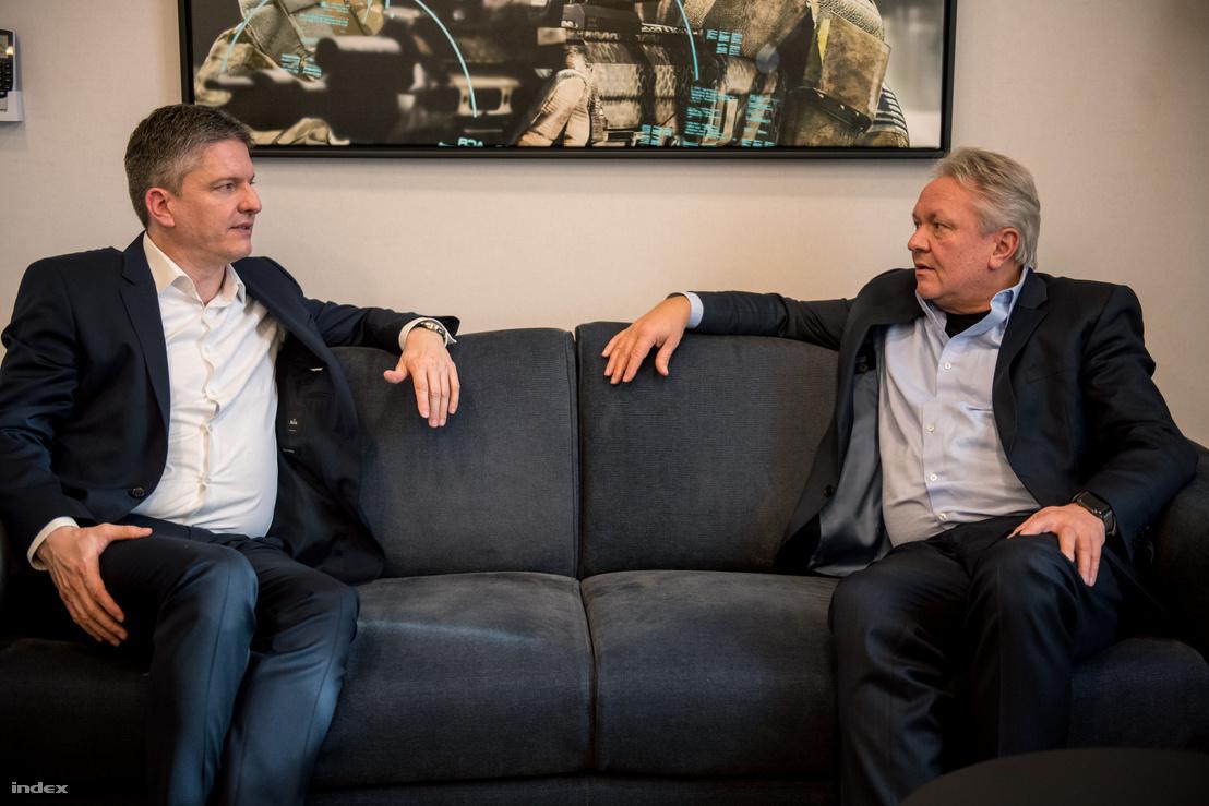 Maróth Gáspár és Armin Papperger